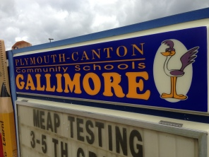 Gallimore School Sign